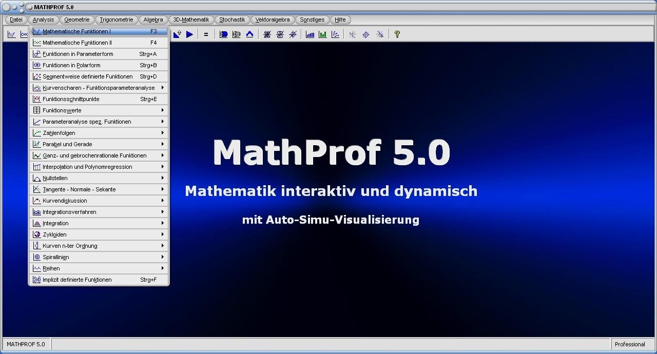 MathProf full screenshot