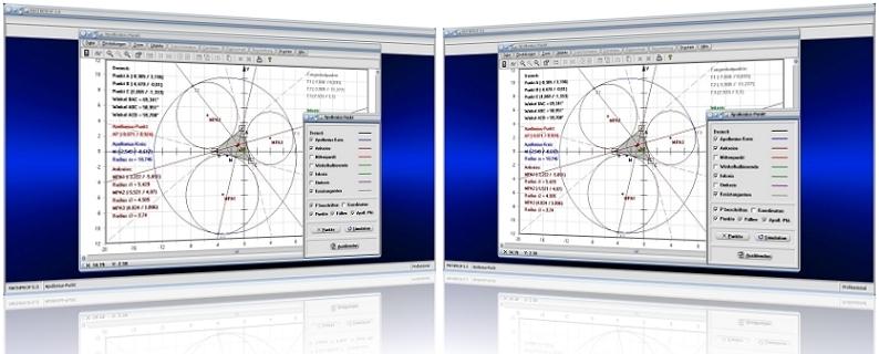 MathProf - Apollonius-Kreis - Kreis des Apollonius - Apollonius-Punkt - Apollonisches Problem - Ankreise - Dreieck - Berührpunkte - Seitenmittelpunkte - Mittenpunkt - Kreistangenten - Konstruktion - Rechner - Grafik - Darstellung - Plotten - Definition - Graph - Berechnen - Berechnung - Darstellen