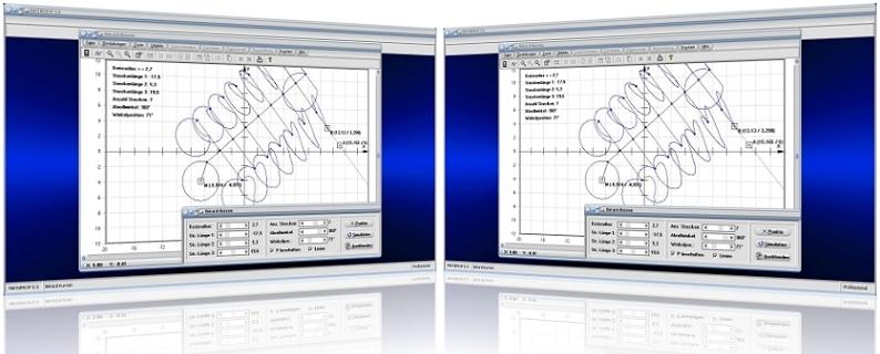 MathProf - Berard-Kurven - Kreis - Punkt - Strecke - Bild - Darstellen - Plotten - Graph - Rechner - Berechnen - Grafik - Zeichnen - Plotter