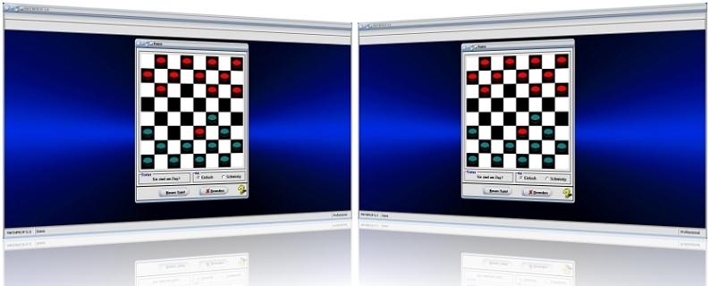 MathProf - Dame - Spiel - Damespiel - Computer - Regeln - Steine - Spielanleitung - Anleitung - Brettspiel - Eröffnung - Start - Ende - Gelöst - Gewinnen - Lösung - Springen