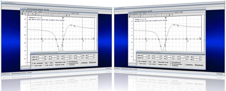 MathProf - Gebrochen rationale Funktion - Gebrochenrationale Funktionen - Polynome - Polstellen - Asymptoten - Rationale Funktion - Nullstellen -   Extremstellen - Extrempunkte - Parameter - Gleichung - Ableitung - Nullstellen - Polstellen - Wendepunkte - Formel - Graph - Plotten - Grafisch - Darstellen - Plotter - Rechner - Berechnen - Polynomgleichungen