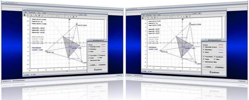 MathProf - Höhenfußpunkt - Höhenschnittpunkt - Höhengerade - Höhen - Schnittpunkt - Dreieck - Stumpfwinkliges Dreieck - Rechtwinkliges Dreieck - Konstruieren - Rechner - Grafik - Darstellung - Plotten - Definition - Graph - Berechnen - Berechnung - Darstellen