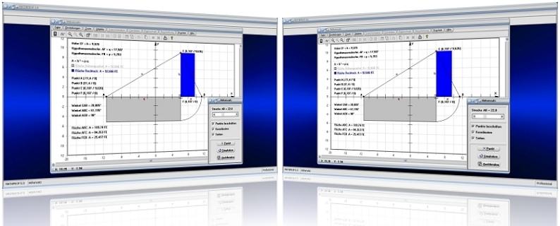 MathProf - Höhensatz - Dreieck - Euklid - Flächensätze - Satz des Euklid - Hypotenusenabschnitte - Katheten - Höhe - Satz - Quadrat - Hypotenuse - Definition - Fläche - Flächeninhalt - p - q - Formel - Darstellung - Berechnen - Rechner - Darstellen - Plotter - Graph - Grafisch - Zeichnen - Bild - Grafik