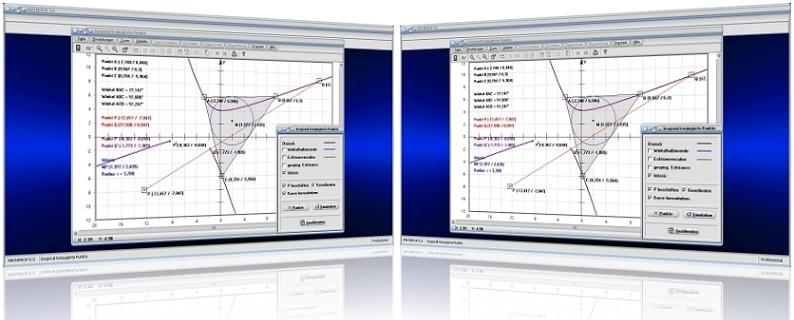 MathProf - Dreieck - Isogonal konjugierte Punkte - Ecktransversalen - Dreiecksberechnung - Inkreis - Umkreis - Dreiecksseiten - Gerade - Schwerpunkt - Innenwinkel - Höhenschnittpunkt - Rechner - Grafik - Darstellung - Plotten - Definition - Graph - Bild - Berechnen - Berechnung - Darstellen