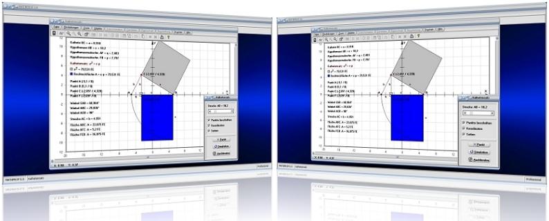 MathProf - Kathetensatz - Euklid - Hypotenusenabschnitt - Katheten - Kathete - Dreieck - Scherung - Formel - Plot - Beweis - Flächensätze - Darstellung - Berechnung - Erklärung - Beschreibung - Berechnen - Winkel - Darstellen - Graph - Zeichnen - Animation - Grafik - Rechner