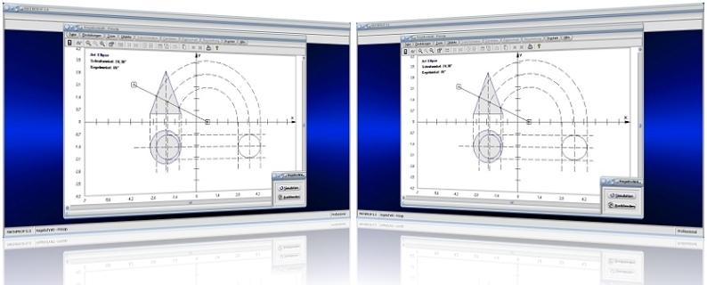 MathProf - Kegel - Kegelschnitt - Schneiden - Schnitt - Schnittmuster - Rissachse - Winkel - Schnittwinkel - Ebene - Schnittfläche - Ellipsensegment - Ellipsenabschnitt - Kegelwinkel - Prinzip - Neigungswinkel - Schnittebene - Rechner - Berechnen - Graph - Plotten - Darstellen