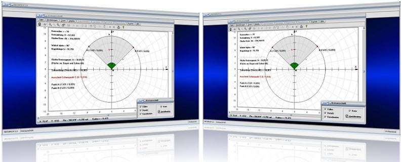 MathProf - Kreisausschnitt - Kreissektor - Kreisbogen - Kreissehne - Bogenlänge - Halbkreis berechnen - Schwerpunkt - Flächeninhalt - Flächenschwerpunkt - Sektorfläche - Kreissehne - Teilfläche - Sehne - Umfang - Mittelpunktswinkel - Sehnenlänge - Länge - Sektorwinkel - Grafik - Darstellen - Berechnung - Plotten - Graph - Rechner - Formel - Eigenschaften - Plotter - Kreisbogenlänge