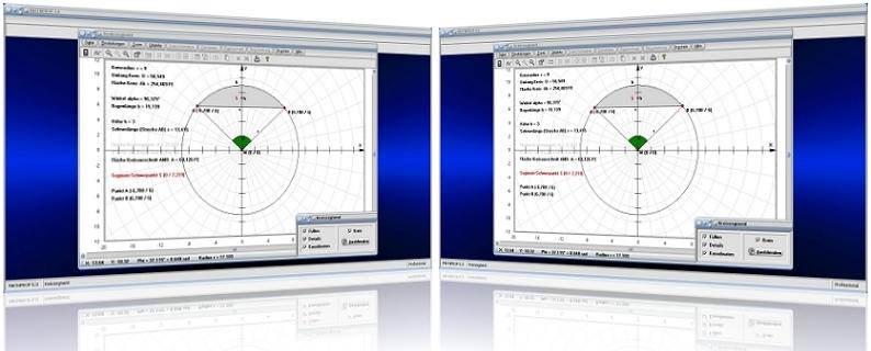 MathProf - Kreissegment - Kreisabschnitt - Kreissehne - Bogen - Sehne - Länge - Kreisbogenlänge - Schwerpunkt - Bogenabschnitt - Winkel - Segmentfläche - Bogenlänge - Schwerpunkt - Grafik - Beispiel - Berechnen - Graph - Plotter - Aufgabe - Rechner - Plotten - Eigenschaften - Höhe - Fläche - Flächeninhalt - Bestimmen - Zeichnen - Grafiisch