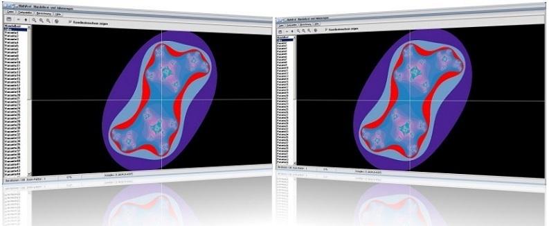 MathProf - Mandelbrot - Fraktale - Apfelmännchen - Julia-Menge - Mandelbrot-Menge - System - Zeichnen - Animation - Plotten - Eigenschaften - Graph - Gleichung - Plotten - Bilder