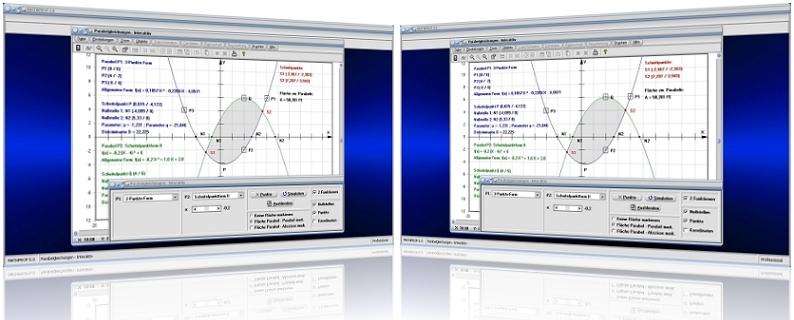 MathProf - Parabelgleichung - Lagebeziehung - Parabel - Bestimmung - Punkte - Scheitel - Scheitelpunkt - Graph - Plotten - Plotter - Zeichnen - Nullstellen - Nullstellen - Stauchen - Strecken - Rechner - Berechnen - Funktionsgleichung - Parabelfunktion - Scheitelform - Scheitelpunktform - Verschieben - Achsenschnittpunkte