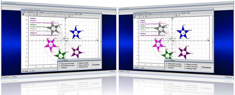 MathProf - Polygon - Ursprung - Abbildung - Flächen - Vielecke - Geometrische Operationen - Polygone - Eigenschaften - Zentrum - Winkel - Ecken - Fläche - Abbilden - Abbildung - Tabelle - Punktspiegelung - Rechner - Zeichnen - Graph - Formel - Berechnen - Plotten - Plotter - Grafisch - Bild - Grafik - Grafisch - Kongruente Figuren - Drehen - Spiegeln - Drehstrecken - Punktspiegeln - Verschieben - Strecken - Stauchen