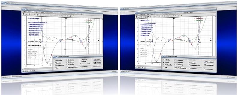 MathProf - Polynominterpolation - Interpolation - Polynomfunktion - Polynomapproximation - Stützstellen - Näherungspolynom - Polynomiale Interpolation -   Ganzrationale Polynome - Hochpunkte - Tiefpunkte - Wendepunte - Graph - Plotten - Grafisch - Grafik - Bilder - Darstellung - Berechnung - Rechner - Darstellen - Nullstellen
