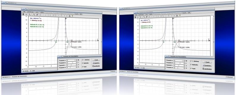 MathProf - Potenzfunktionen - Ableitung - Graphen - Strecken - Streckfaktor - Steigung - Basis - Exponent - Untersuchen - Untersuchung - Grafik - Graph - Nullstelle - Beispiel -   Plotter - Zeichnen - Darstellung - Berechnung - Darstellen - Schaubild - Ableiten - Parameter - Eigenschaften - Berechnen - Werte - Funktionswerte - Wertetabelle