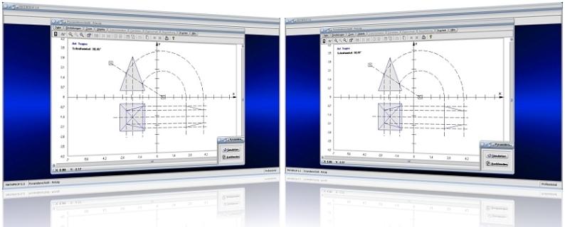 MathProf - Pyramidenschnitt - Pyramide - Schneiden - Schnitt - Rissachse - Schnittmuster - Winkel - Schnittwinkel - Ebene - Schnittfläche - Prinzip - Neigungswinkel - Schnittebene - Rechner - Berechnen - Graph - Plotten - Darstellen