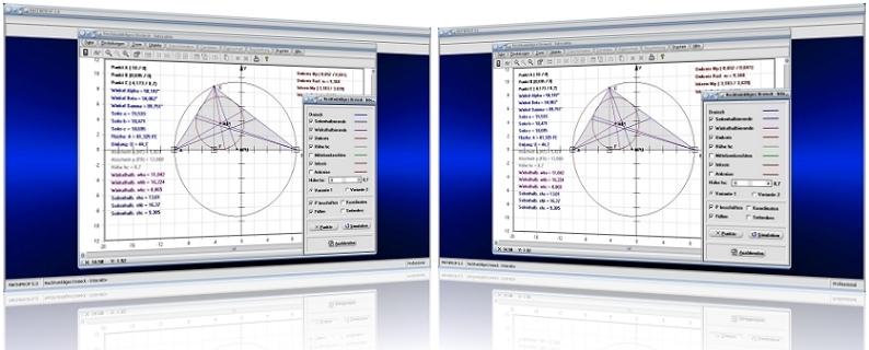 MathProf - Rechtwinklig - Dreiecke - Fläche - Winkel - Seiten - Seitenhalbierende - Höhe - Seitenlängen - Dreieckshöhe - Mittelsenkrechte - Ankathete - Gegenkathete - Hypotenuse - Inkreis - Inkreismittelpunkt - Ankreise - Schwerpunkt - Flächenschwerpunkt - Dreieckskonstruktion - Dreieckshöhe - Dreiecksfläche - Außenkreis - Innenkreis - Schwerlinien - Grafisch - Rechner - Berechnen - Berechnung - Graph - Plot - Darstellen - Präsentation