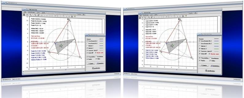 MathProf - Satz - Ceva - Konstruktion - Konstruieren - Transversalen - Seitenhalbierende - Berechnen - Graph - Grafisch - Bild - Zeichnen - Ecktransversalen - Eigenschaften - Erklärung - Beschreibung - Definition - Rechner - Beispiel - Grafik - Darstellung - Berechnung - Darstellen
