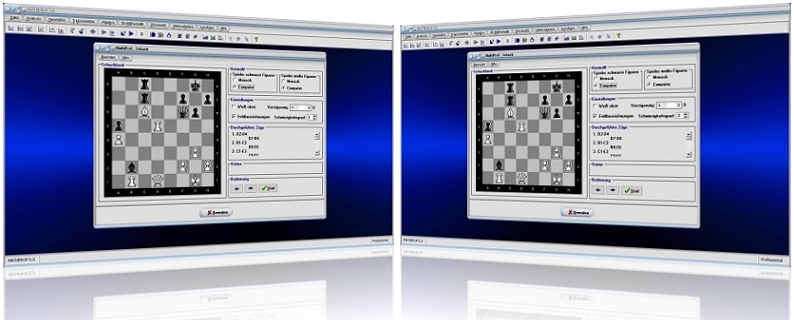 MathProf - Schachspiel - Schach - Schachbrett - Mensch - Computer - Zug - Züge - Trainer - Figuren - Spiel
