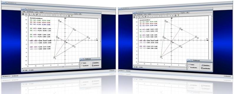 MathProf - Strahlensätze - Verhältnis - Strahl - Längenverhältnis - Länge - Streckenverhältnisse - Verhältnisgleichung - Seitenverhältnis - Seitenverhältnisse - 1.   Strahlensatz - 2. Strahlensatz - 3. Strahlensatz - Strahlenbüschel - Berechnen - Darstellen - Rechner - Plotter - Bild - Grafik - Graph - Streckenteilung
