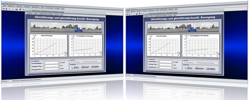 PhysProf - Weg-Zeit - Diagramm - Geschwindigkeit - s-t-Diagramm - v-t-Diagramm - Bewegung - Bremsen - Abbremsen - Beschleunigen - Diagramm - Anfangsgeschwindigkeit - Endgeschwindigkeit - Berechnen - Formel - Orts-Zeit-Diagramm - Rechner - Grafik - Formeln - Beschleunigung - Beschleunigte Bewegung - Zeit