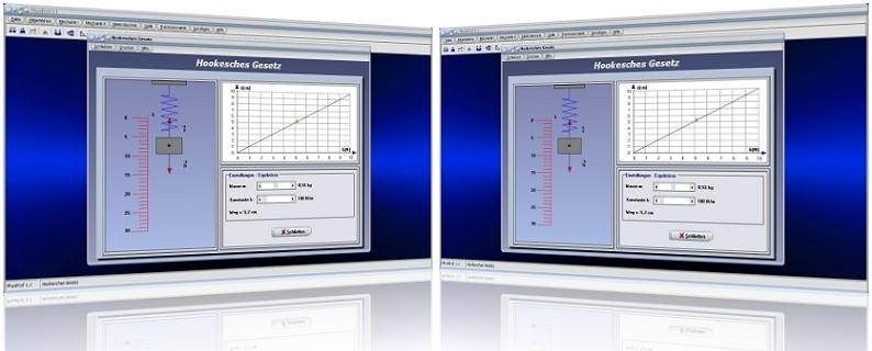 Gesetz - Hooke - Hookesches - Rechner - Gesetz - Gerade - Feder - Federkraft - Federkonstante - Federweg - Kraft - Kraftgesetz - Berechnen - Diagramm - Formel - Simulation - Einheit  - Gleichung - Masse - Konstante - Kraft-Weg-Diagramm - Dehnung - Grafik - Berechnung - Darstellen