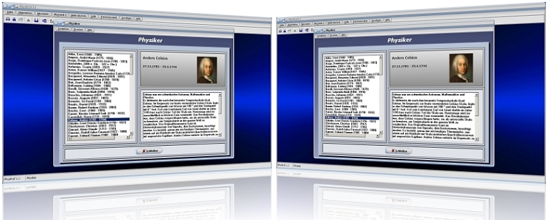 PhysProf - Physiker - Bedeutende Physiker - Bekannte Physiker - Berühmte Physiker - Liste - Bilder - Personen - Persönlichkeiten - Biografien - Porträts - Geschichte - Ernst Abbe - André-Marie Ampere - Ludwig Boltzmann - Anders Celsius - Albert Einstein