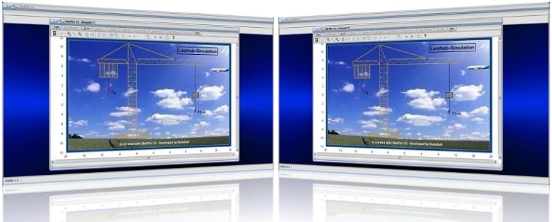 SimPlot - Rechner - Berechnen - Darstelllen - Grafisch - Darstellung - issenschaft - Animationen - Daten - Auswertungen - Bilder - Grafiken - Forschung - Technik - Technisch - Grafik - Bilder - Schaubild - Plotter - Software Techniken - Schaubilder - Wissenschaften - Forschung - Computeranimation - PC - Simulieren - Synchrone Bewegung - Schrittfolge - Schrittsteuerung