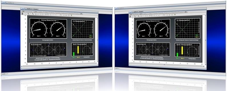 SimPlot - Software - Programm - Diagramme - Anzeige - Drehzahl - Simulation - Simulieren - Animation - Bewegung - Computeranimation - Zeitsteuerung - Zeitgesteuerter Ablauf - Steps - Animation - Zeitabhängige Steuerung - Zeitabhängige Bewegung - Ablaufsteuerung - Ablauf - Abläufe - Steuerung - Zeitabhängig - Zeitabhängige Ablaufsteuerung - Schrittsteuerung - Schrittweise Bewegung - Drehung - Rotation - Translation - Steuerung - Transformation - Transformierung - Geschwindigkeit - Darstellen - Bild - Bilder