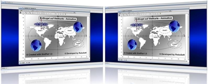 SimPlot - Rechner - Berechnen - Darstelllen - Grafisch - Darstellung - Grafikanimationen - Technisch - Technik - Mathematik - Physik - Geometrie - Wissenschaftlich - Wissenschaft - Publikationen - Bilder - Auswerten - Auswertung - Diagramm - Zeichnen - Zeichnungen - Technisch - Einfluss - Analyse - Analysieren - Animieren