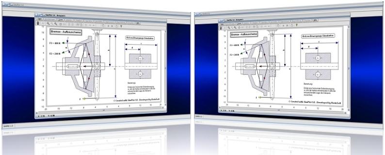 SimPlot - Software - Programm - Simulation - Simulieren - Animation - Berechnen - Rechner - Grafisch - Grafiken - Plotten - Darstellen - Grafische Illustration - Wissenschaft - Interaktive Grafik - Konstruieren - Konstruktion - Schaubild - Technik - Auswertung - Animationsgrafiken - Animationsprogramm - Technische Animationen - Zeichnungen - Visualisierung - Echtzeit - Bewegung - Ablauf - Darstellen - Darstellung - Geometrie - Prozessablauf - Präsentation - Bewegungsrichtung - Bewegungsvorgänge