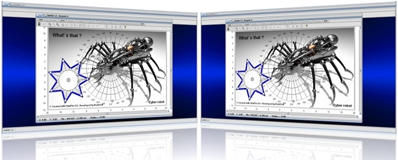 SimPlot - Rechner - Berechnen - Darstelllen - Grafisch - Grafik - Plotten - Grafiken - Plotten - Darstellen - Darstellung - Technisch - Wissenschaftlich - Auswerten - Auswertung - Diagramm - Zeichnen - Zeichnungen - Konstruktion - Geometrische Konstruktion - Animierte Grafik - Animationsgrafik - Animationsprogram - Visualisieren - Visualisierung - Visualisierungssoftware - Form - Figur - Elemente - Gebilde - Vorgang - Vorgänge - Vorgang simulieren - Ablauf