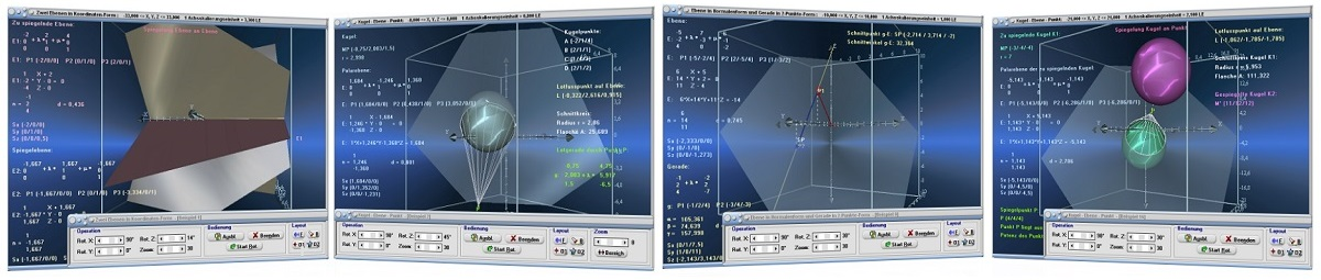 MathProf - Kurzbeschreibung einzelner Module zum Fachthema Vektoralgebra