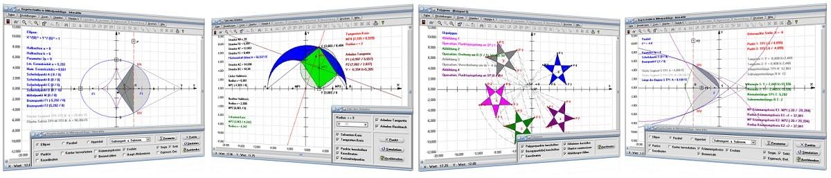MathProf - Geometrie - Mathematik für Schüler, Lehrer, Studenten, Ingenieure und Wissenschaftler