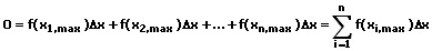MathProf - Obersumme - Formel