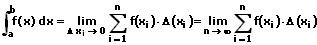 MathProf - Riemannsches Integral - Riemann-Summe - Formel