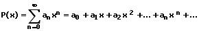 MathProf - Potenzreihe - Entwicklung - Formel