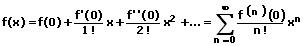 MathProf - Mac Laurinsche Reihe - Formel
