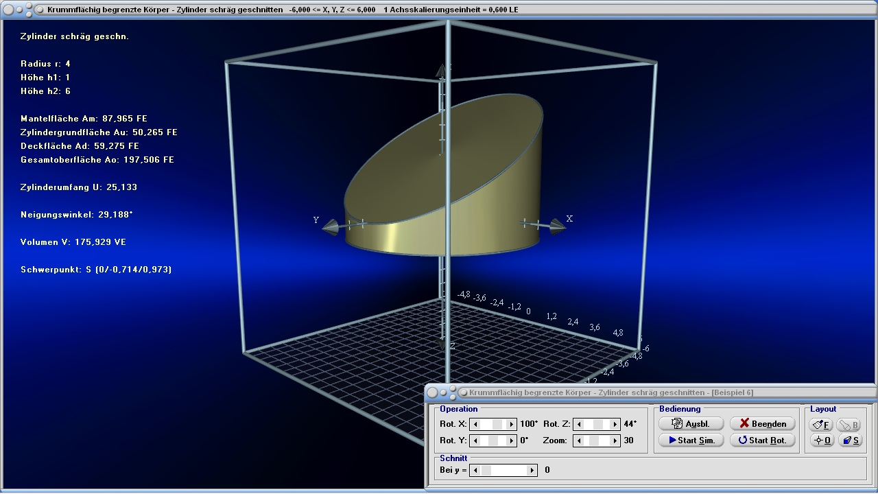 geometrie kegel kugel zylinder kegelstumpf mathprof. Black Bedroom Furniture Sets. Home Design Ideas