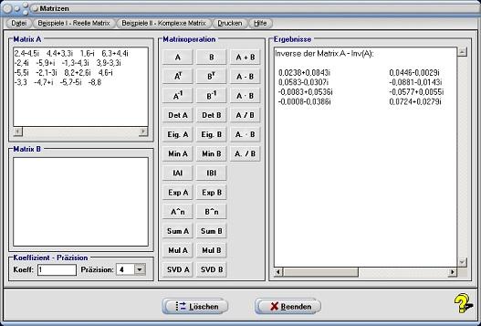 matrizenmultiplikation kommutativ