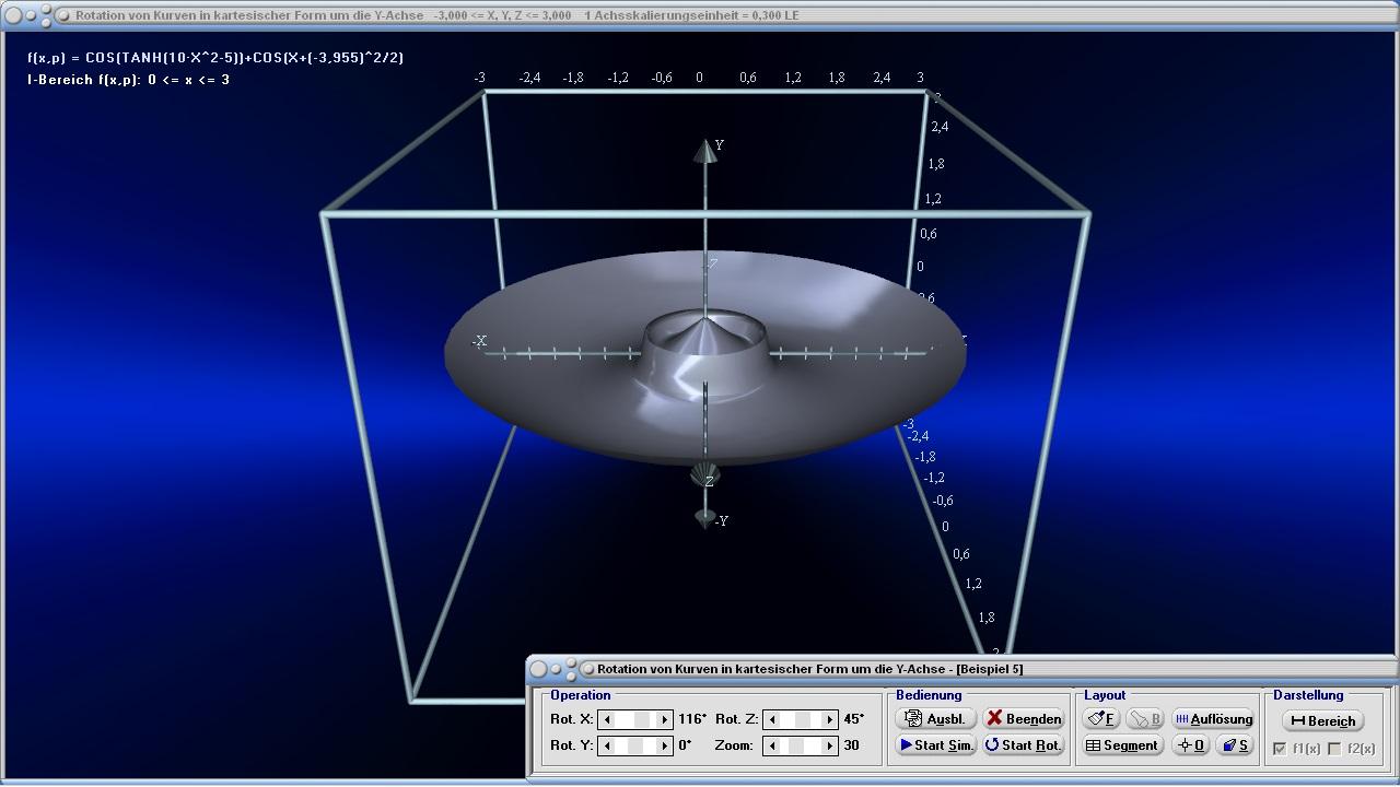 rotationsk rper 3d plotter rotationsvolumen mathprof. Black Bedroom Furniture Sets. Home Design Ideas