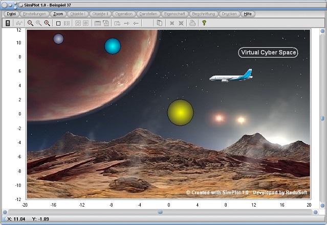 SimPlot - Steuerung - Programm - Software - Zeitabhängig - Zeitabhängige Ablaufsteuerung - Zeitabhängige Geschwindigkeit - Zeitabhängige Funktion - Zeit