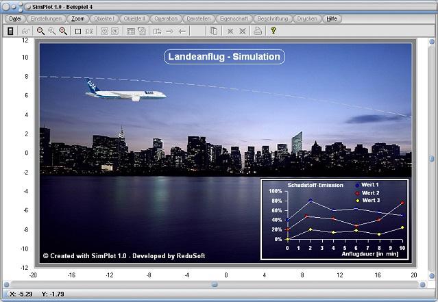 SimPlot - Bewegung - Programm - Software - Computeranimation - Zeitsteuerung - Zeitgesteuerter Ablauf - Steps - Simulation - Animation - Ablauf