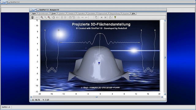 SimPlot - Animationen - Technisch - Bilder - Grafiken - Schaubilder - Infografik - Interaktive Grafiken - Interaktive Grafik - Software